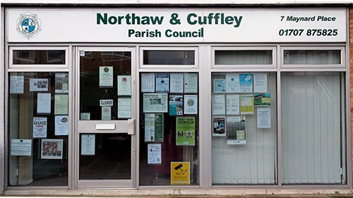 Northaw and Cuffley Parish Council Office